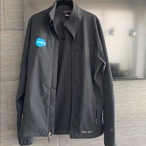NWOT windbreaker jacket black